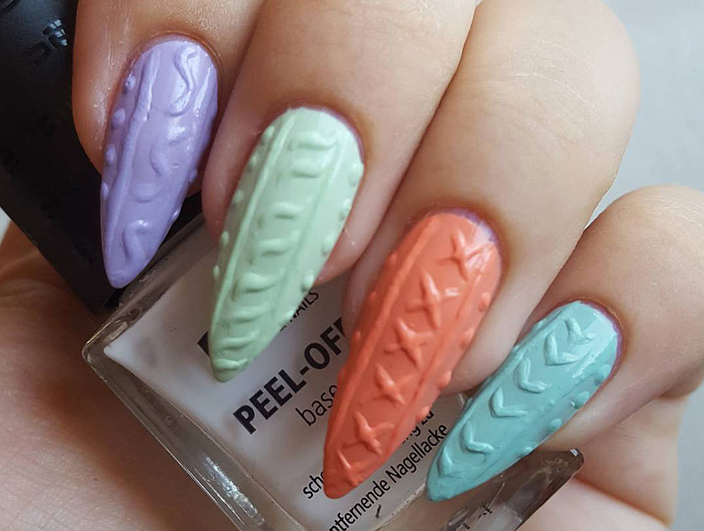 These 3D Acrylic Nails Are EVERYTHING