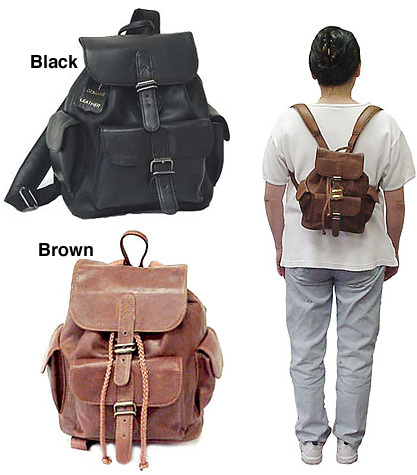 Gimme a Mini Backpack or Gimme Death! The Trends Back Then