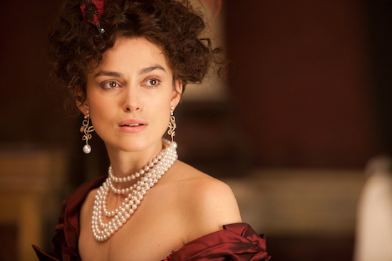 "Actress Keira Knightley on ""Anna Karenina"""