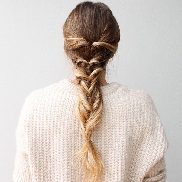 Amp Up the Romance with this Bohemian-Chic Faux Braid