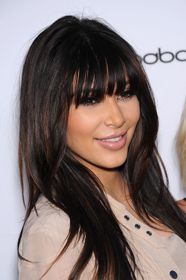 22 Stylish Celebrity Hairstyles with Bangs