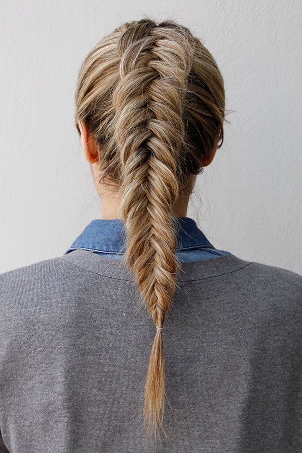 How to Get an Inverted Fishtail Braid That\'s Sure to Impress - More