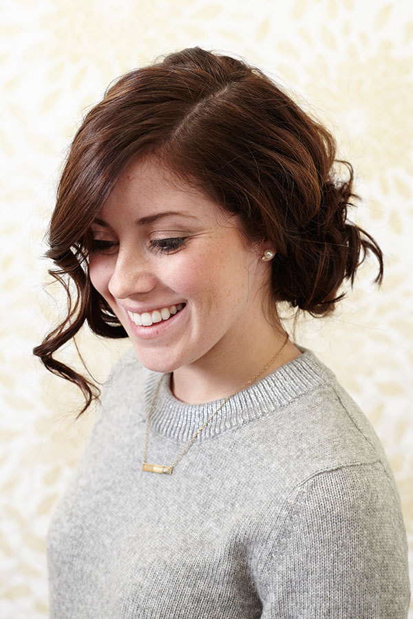 Not Your Grandma's Updo: Try This Loose, Flirty Style