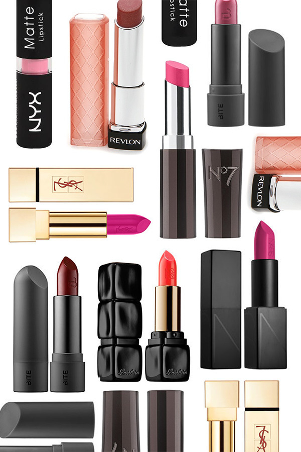 Eight Lipstick Colors to Make Your Eyes Pop