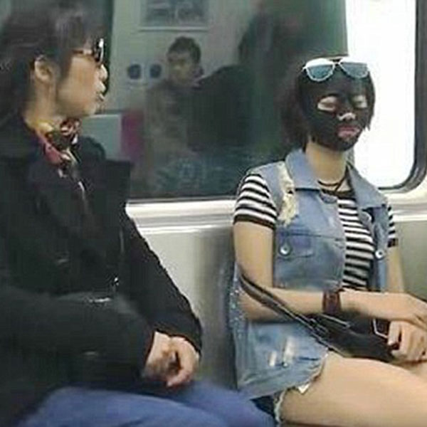 """""""Maskwoman"""" Takes On-the-Go Beauty to a Whole New Level"""