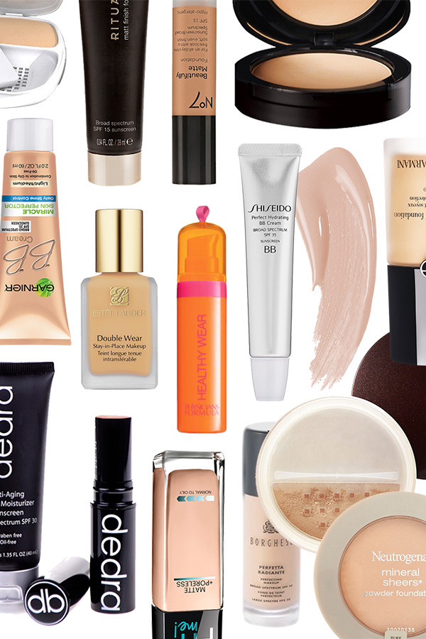 14 of the Best Foundations for Oily Skin