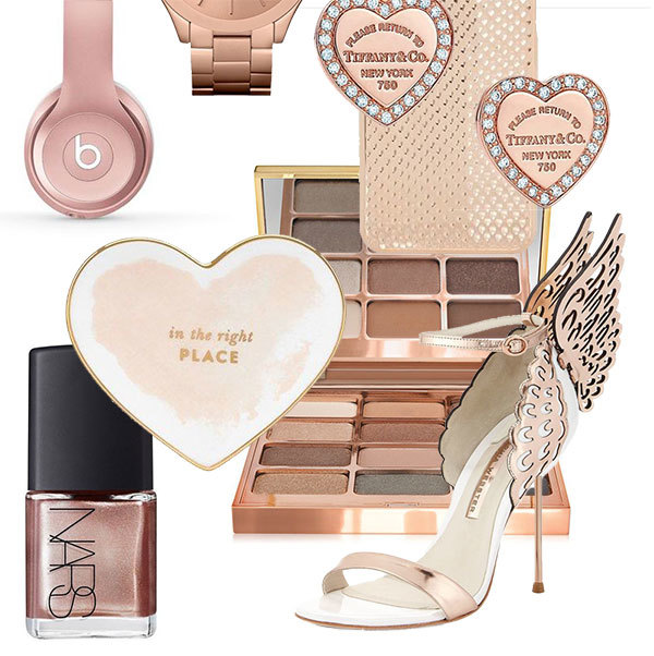 The Ultimate Rose Gold Gift Guide for Valentine's Day