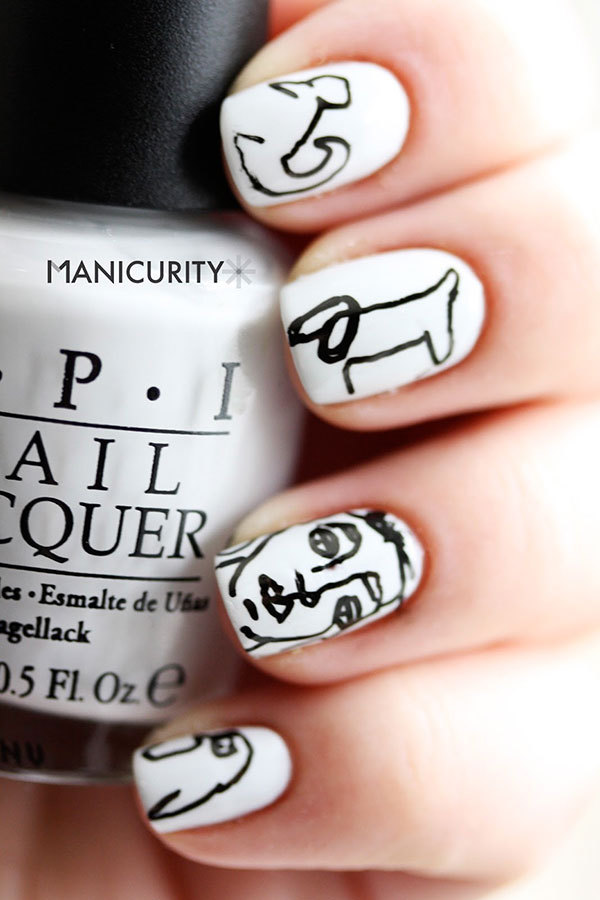 Better-Than-Basic White Nail Designs