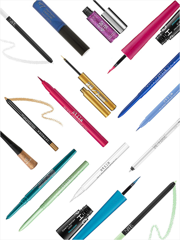 Spring 2014 Beauty: New Colored Eyeliner You'll Love to Try