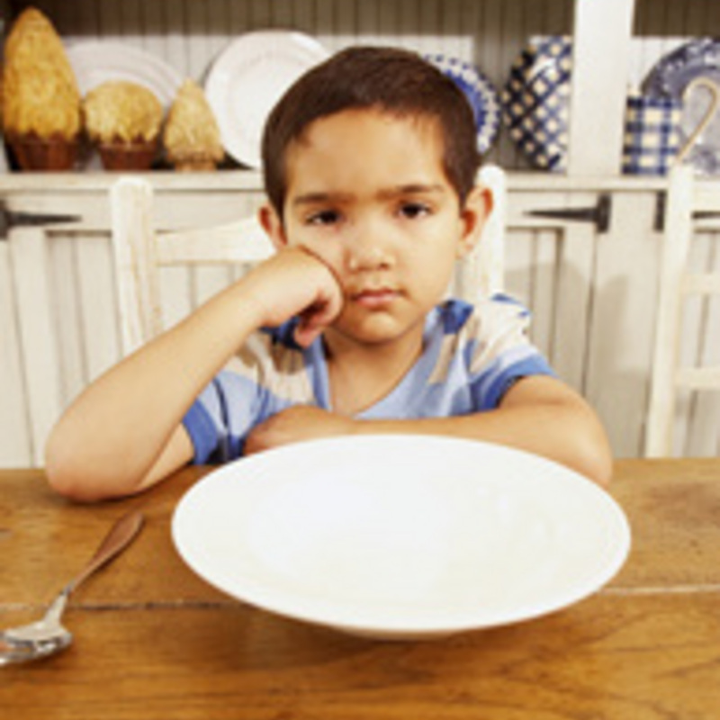 Coping with a Child Who Won't Eat
