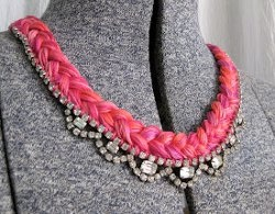 Jewelry Trends: 5 Ways to Use Embroidery Floss