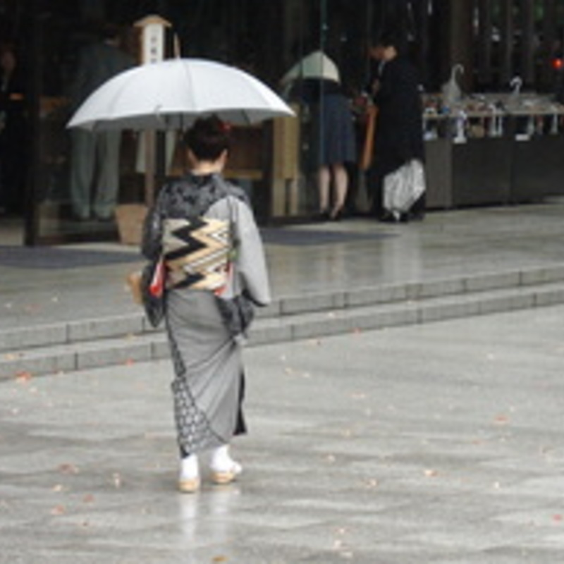 Like Your Galoshes, Love Your Umbrella