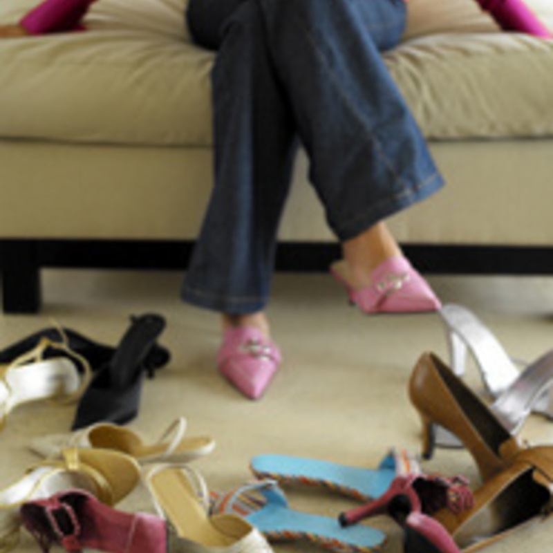 Shoe Party for One