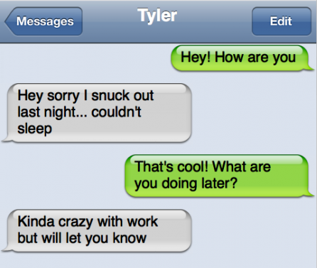 Website Analyzes His Text Messages for You