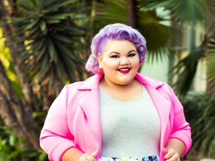 Project Runway's Ashley Nell Tipton Brings Plus-Size Style To JCPenney