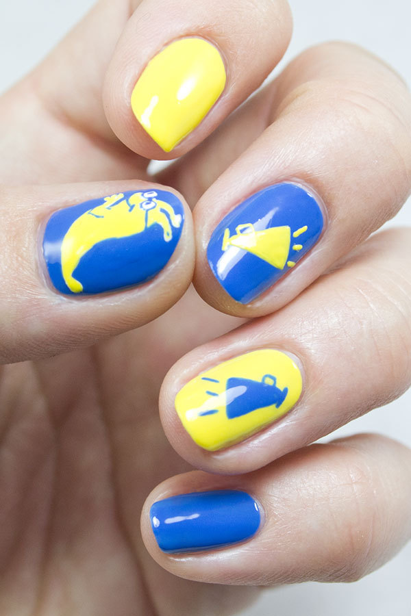 Back-to-School Nails: We've Got Spirit, Yes We Do!
