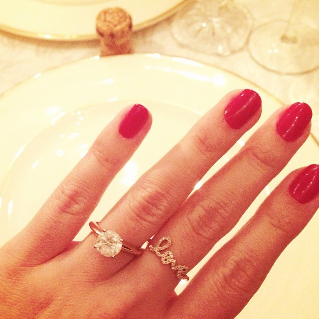 The Best Celebrity Engagement Rings Seen on Instagram