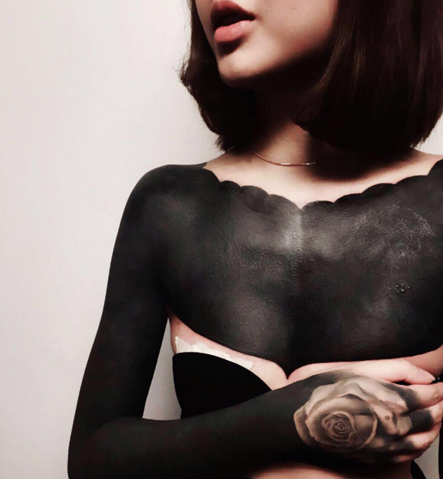 The Blackout Tattoo Trend: Too Cool or Too Extreme?