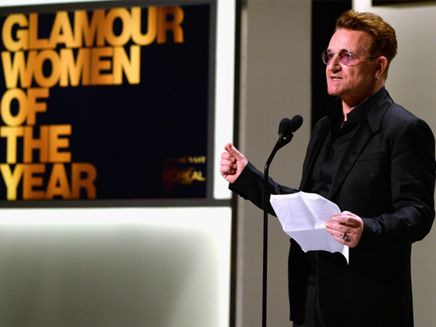 """Even Bono Says His """"Woman Of The Year"""" Award Is Ridiculous"""
