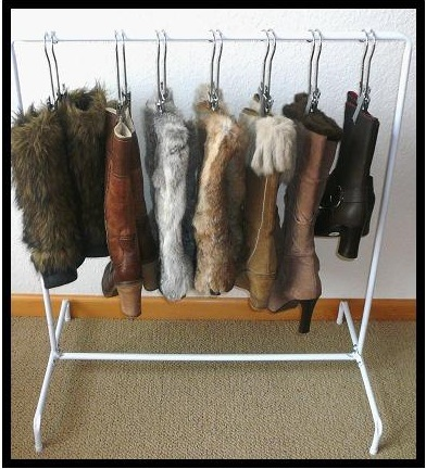 How to Organize Your Tall Fall Boots? Hang Them