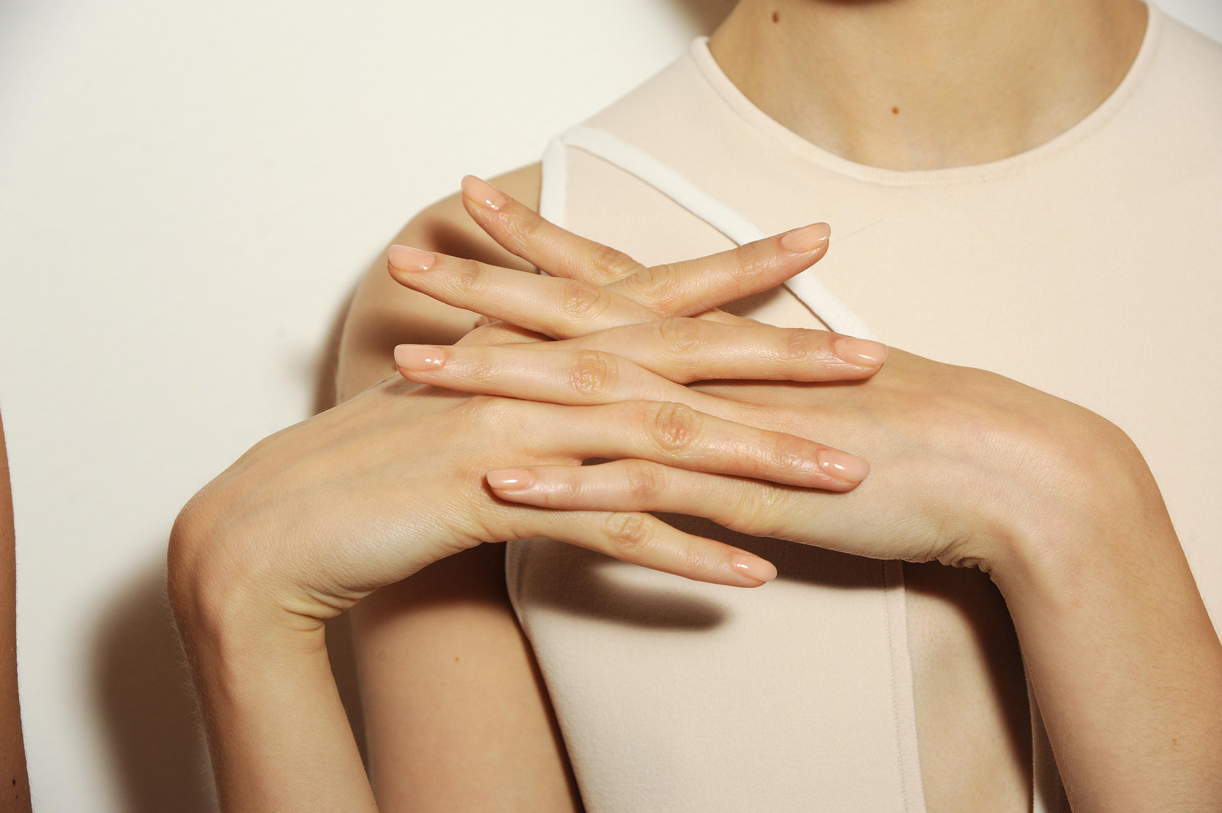 NYFW: Nails by butter LONDON on the Louise Goldin Runway