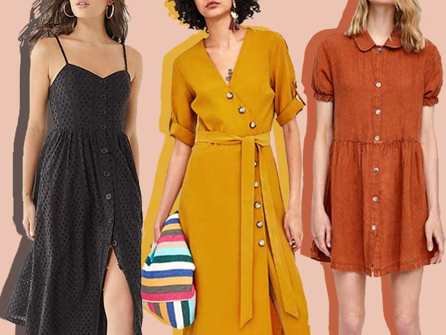 Everyone's Wearing A Button Front Dress This Season, And We Found 14 Under $100