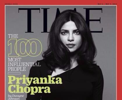 Priyanka Chopra Appears on Time Magazine's '100 Most Influential People' Cover