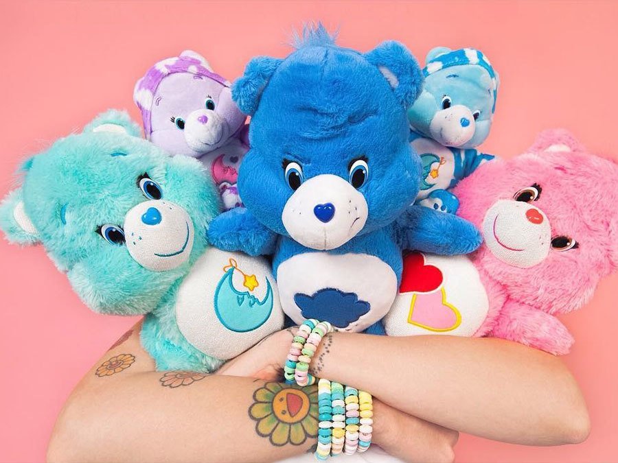 This Care Bears Fashion Line Is Everything An '80s Child Could Want