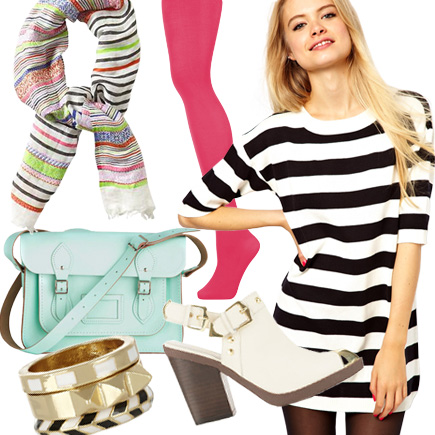 Trends Made Easy: Black-and-White Striped Clothes
