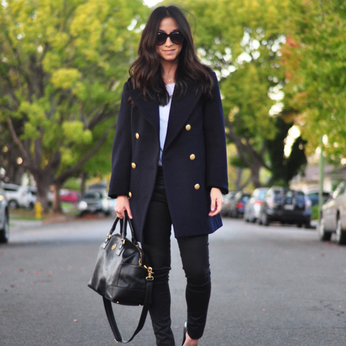 Coated Denim: A Fall Trend I Can't Get Enough Of