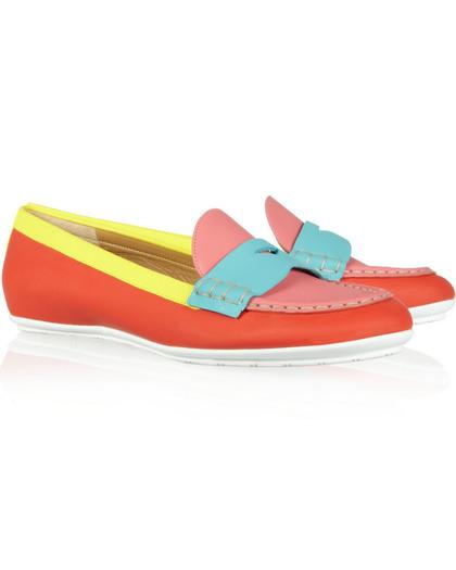 Fun and Stylish Color-Blocked Shoes We Want this Season
