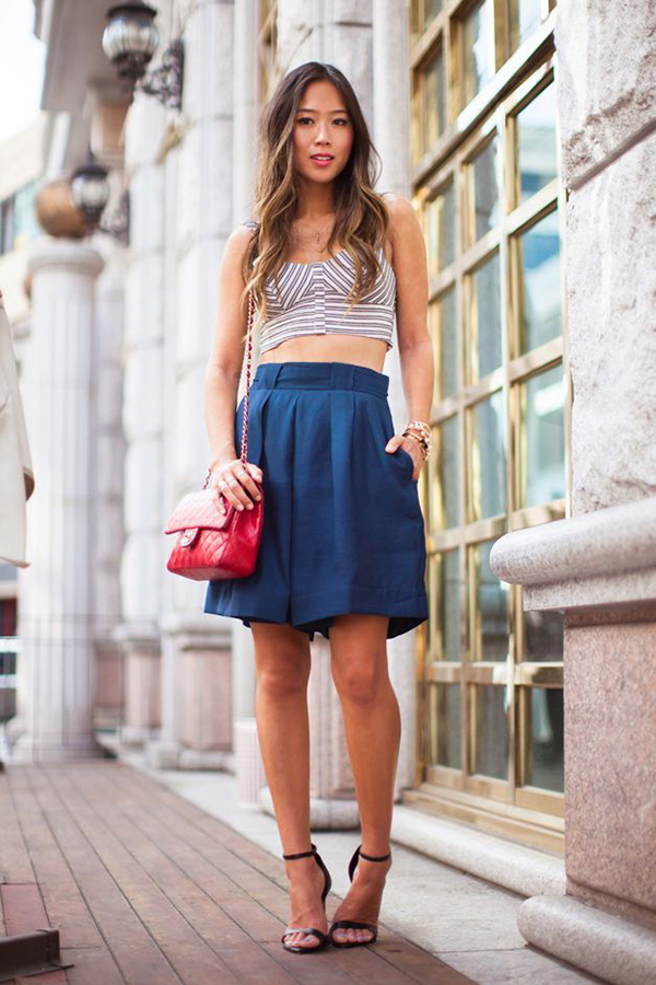 How to Rock Crop Tops: Lessons From Our Favorite Bloggers