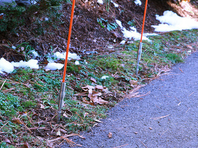 Rebound Driveway Markers: Keep Snowplows and Cars Off the Landscaping