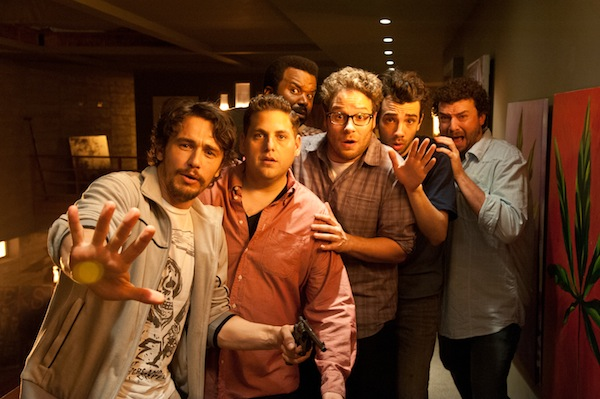 "Seth Rogen, Evan Goldberg, and Craig Robinson Talk ""This Is the End"""
