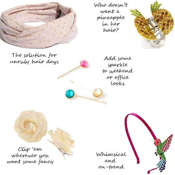 Hair Accessories That Are Perfect For Spring