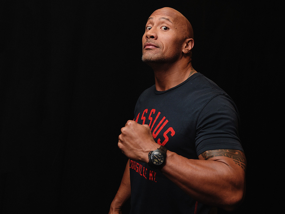 Dwayne Johnson Has a Beef with a Castmate, But He's Not Saying Who