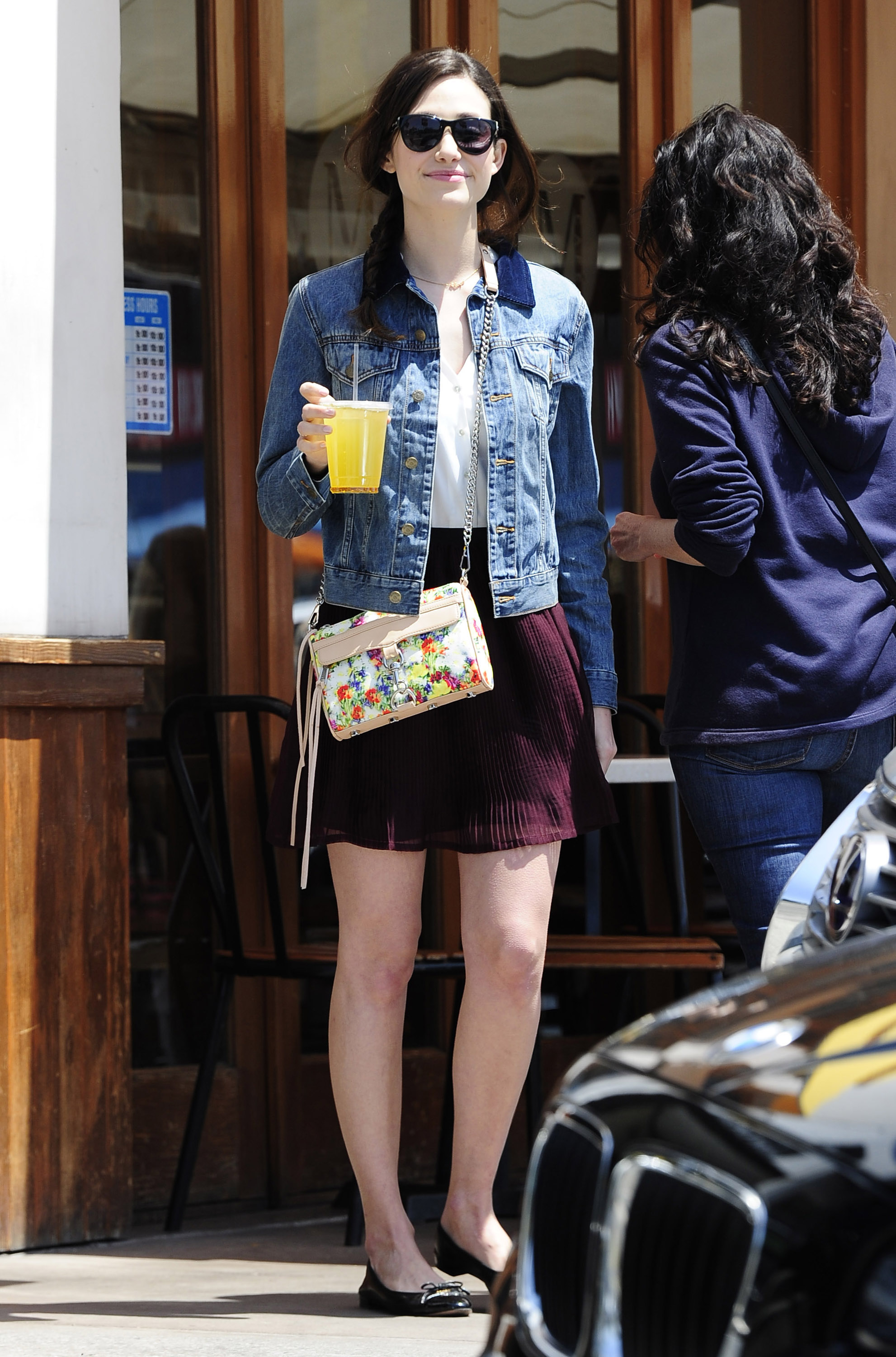 Get The Look: Emmy Rossum's Hip, Casual Look