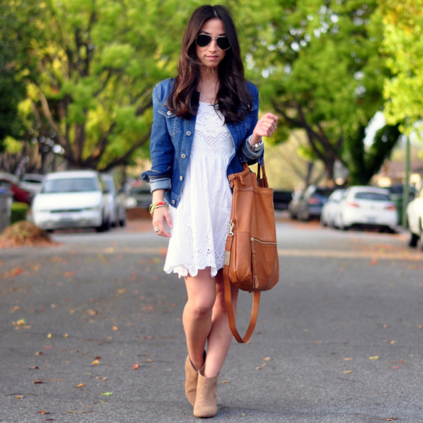 The Perfect Summer Eyelet Dress