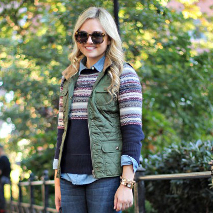 Winter Trend to Try: Fair Isle Print Sweaters