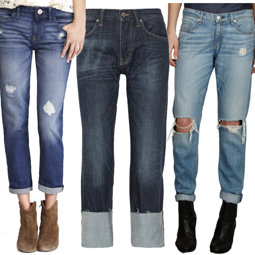 How to Wear Boyfriend Jeans This Fall