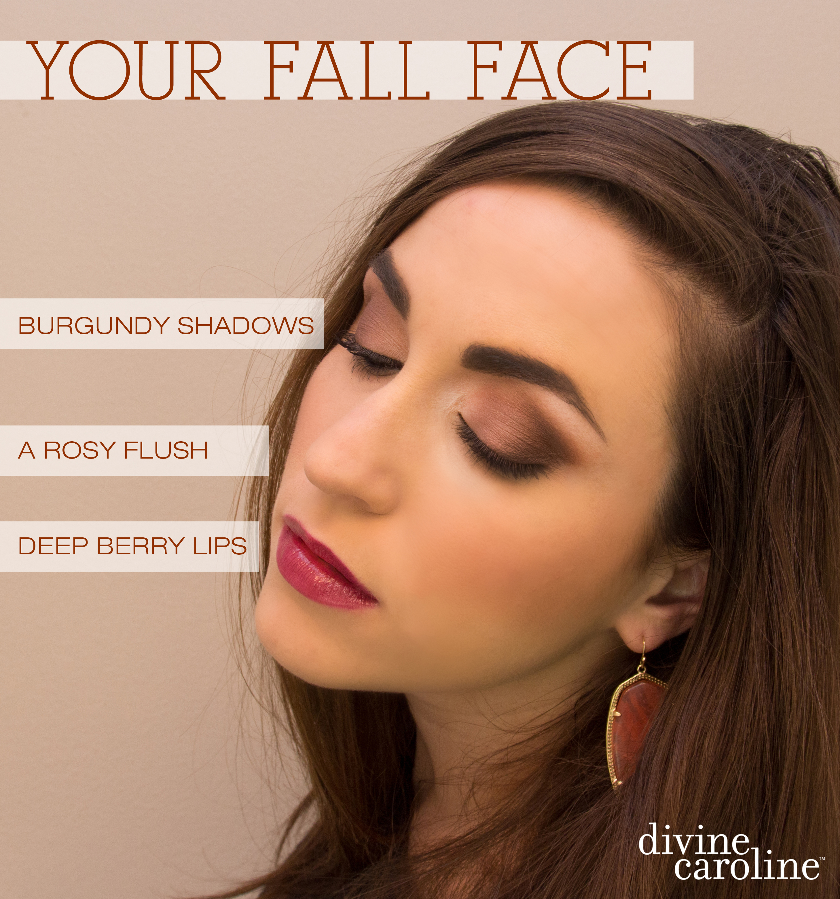Your Fall Face: Adjusting Your Makeup Palette for Autumn