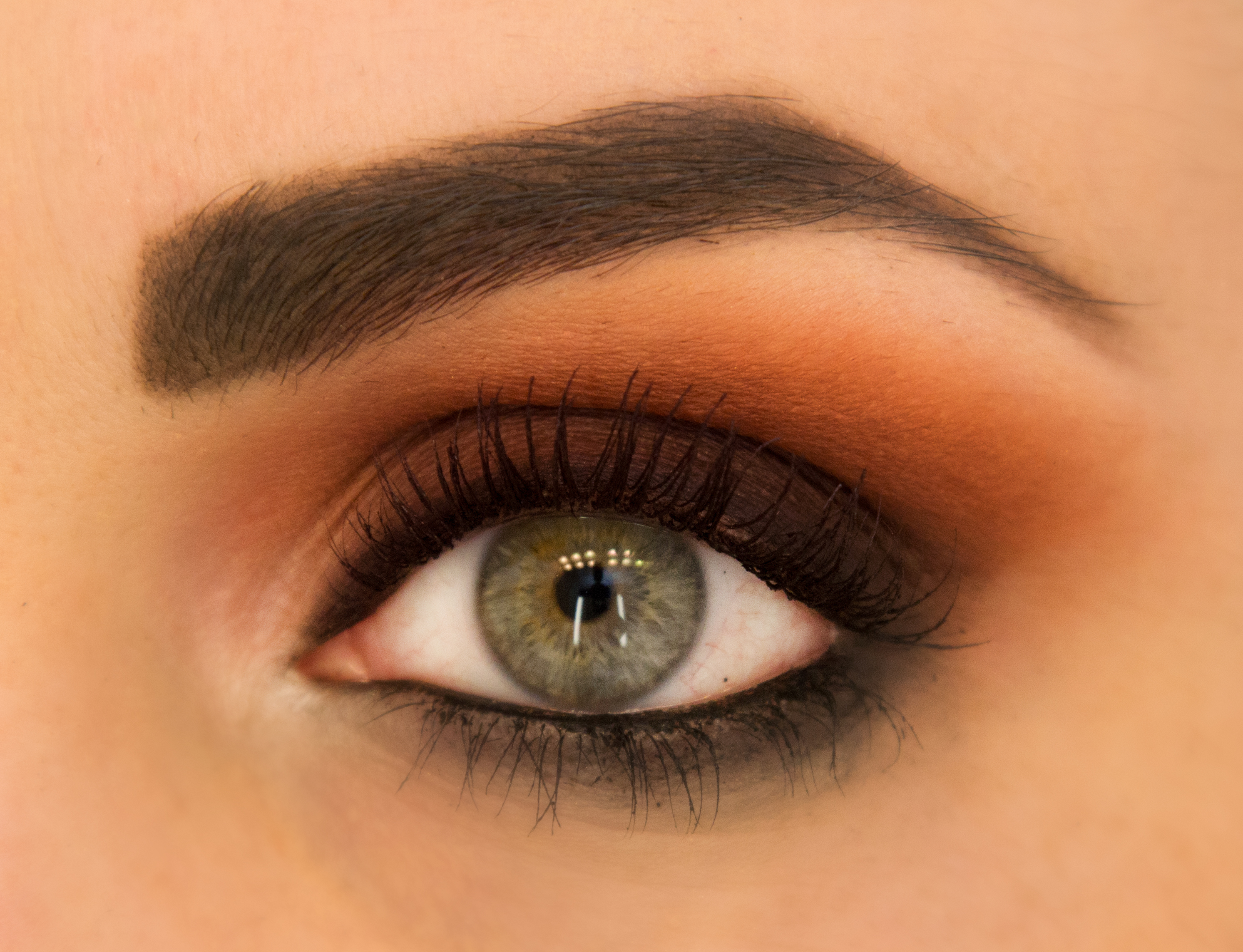 Fall Makeup Trend To Try Orange Eye Shadow More
