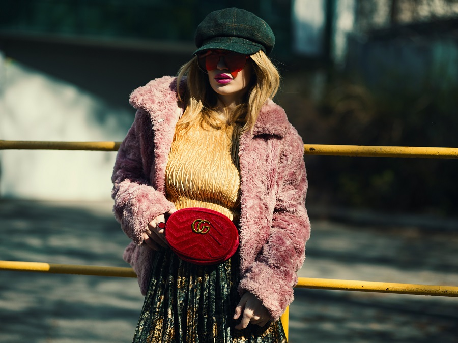 A Faux Fur Coat Will Be Your Fall Fashion Staple—In This Unlikely Color