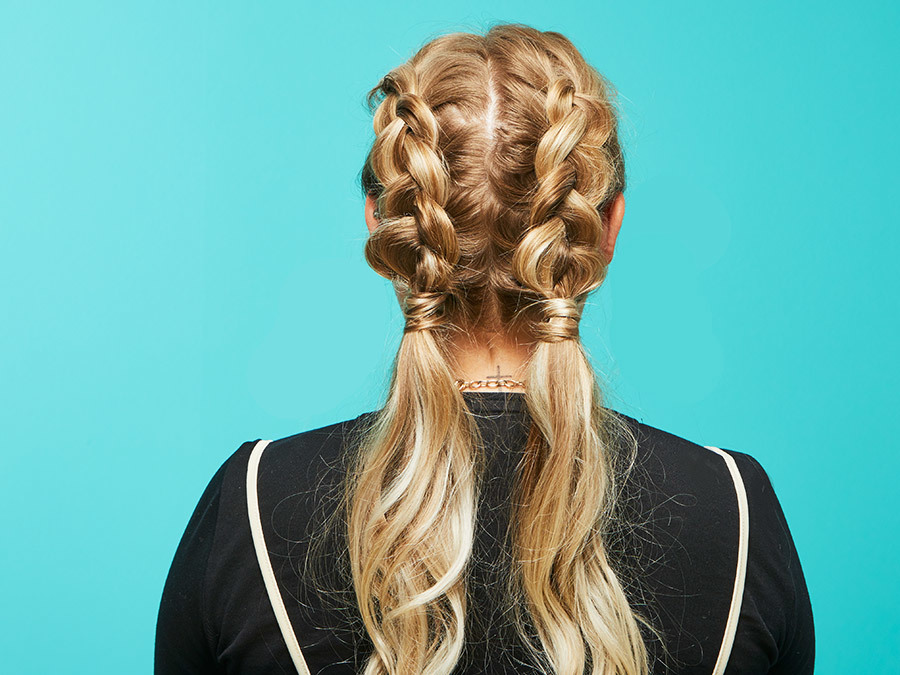 The Braided Pigtail Hair Tutorial You'll Want To Try Immediately