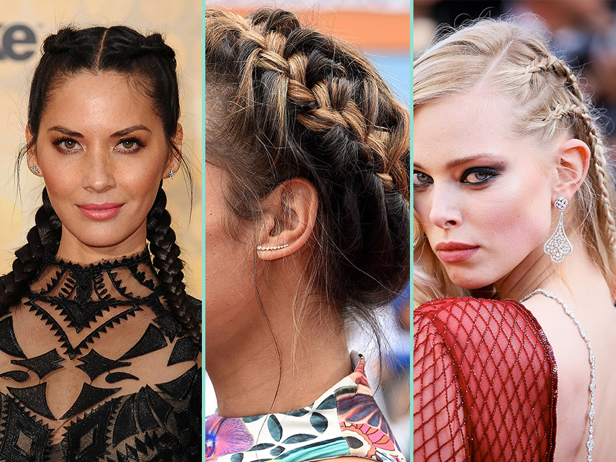 3bed95f1033 The Best Braided Hairstyles to Steal from the Red Carpet - More