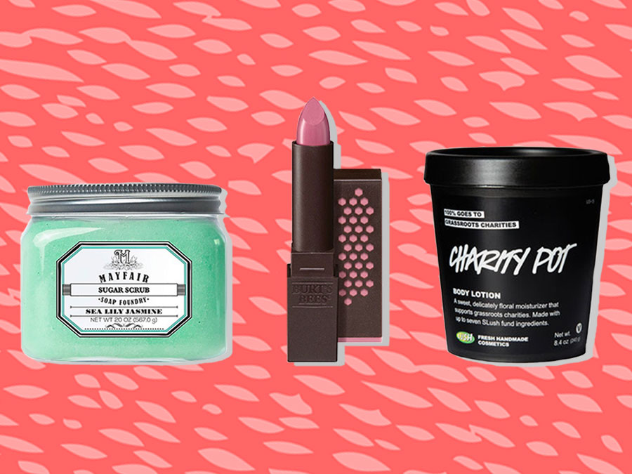 17 Charitable Cosmetic Companies that Help You Give Back
