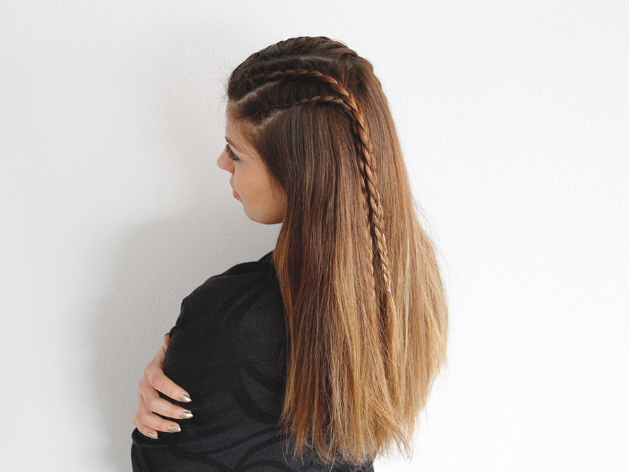 Channel Your Inner Warrior Princess With This Badass Double Lace Braid