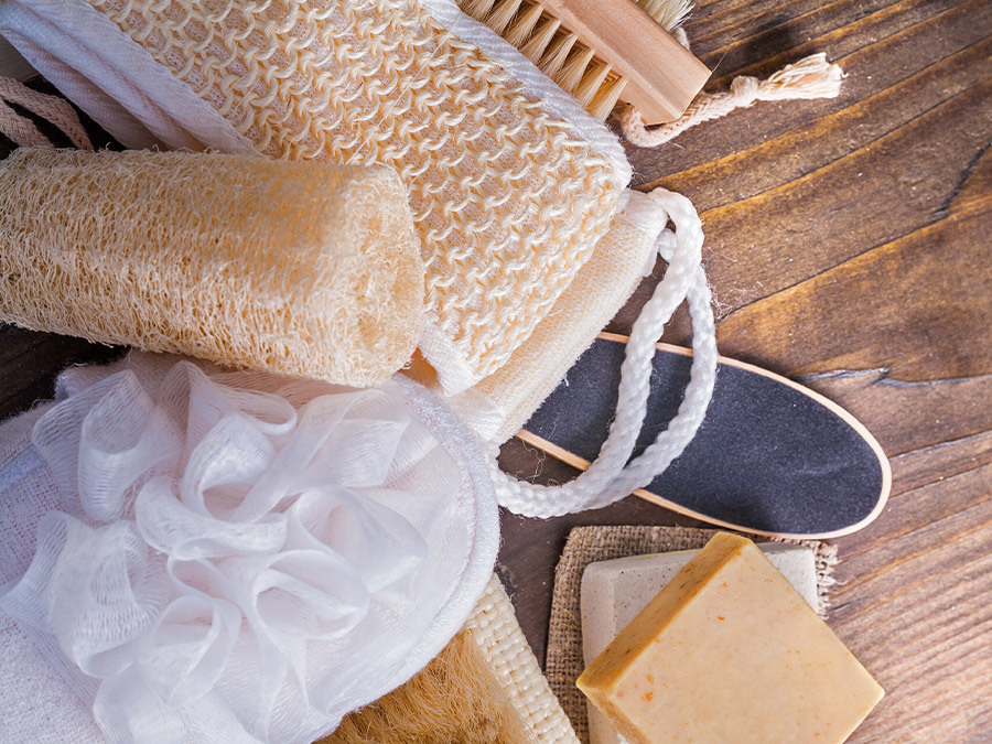 Your Loofah Is Probably Disgusting. Let Us Help