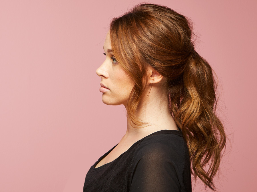 Give Second-Day Hair Major Volume With This Pretty Ponytail Tutorial