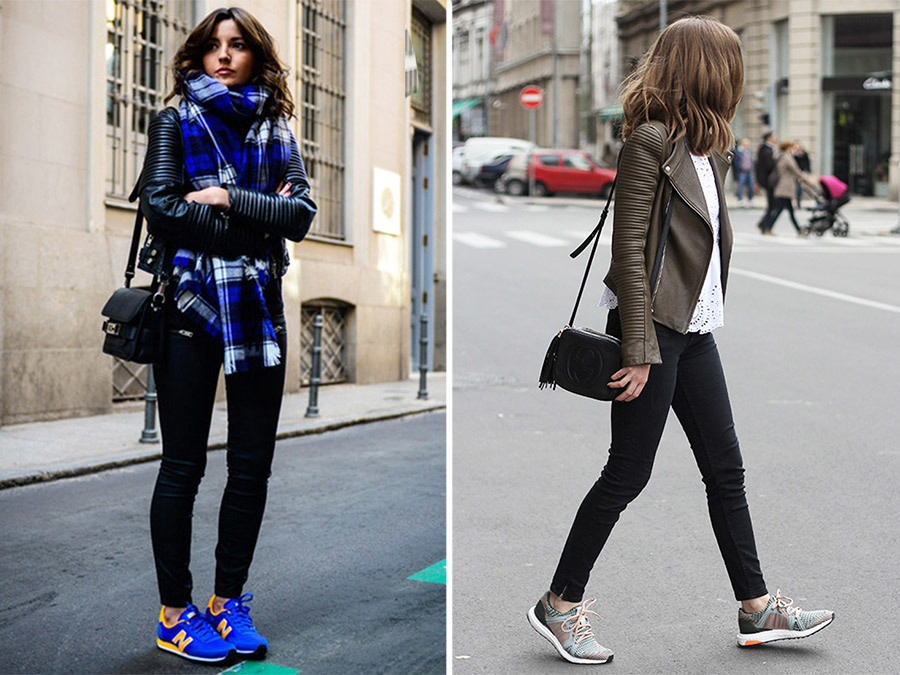How to Rock the Sneaker Trend With Ease